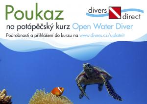 Poukaz na kurz Open Water Diver
