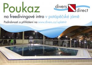 Poukaz na freedivingové intro